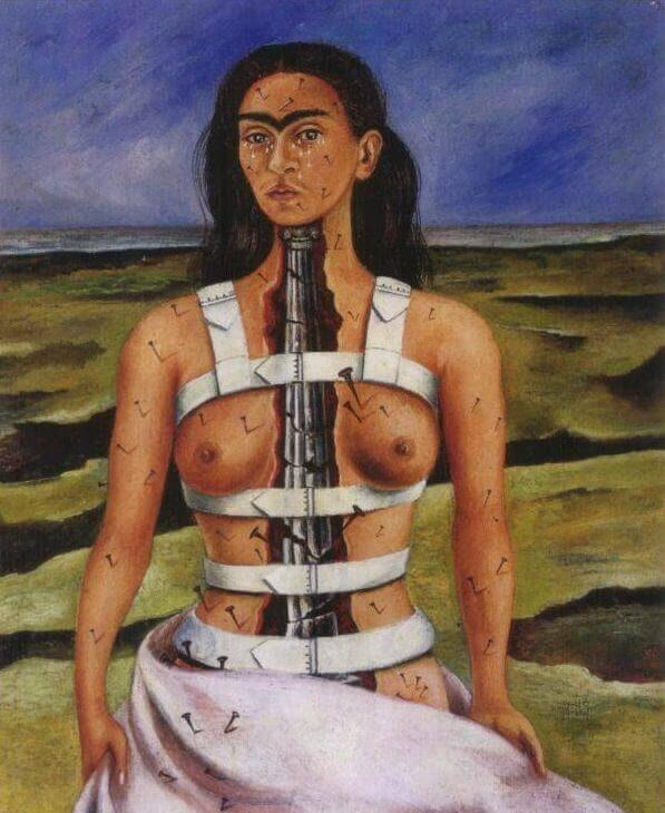 Frida Khalo The broken Column